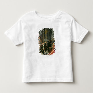 The Mass of St. Gregory (oil on canvas) Toddler T-Shirt