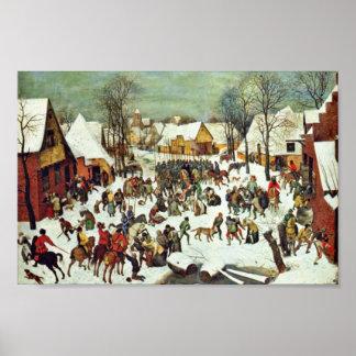 The Massacre Of The Innocents,  By Bruegel D. Ä. P Poster