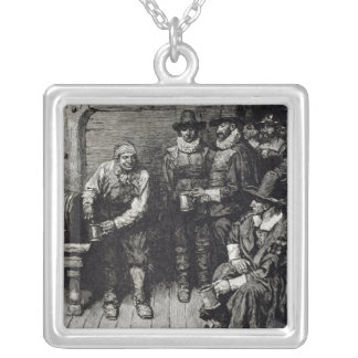 The Master Caused us to have some Beere' Silver Plated Necklace