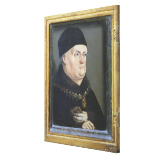 The Matheron Diptych: Portrait of Rene I Canvas Print