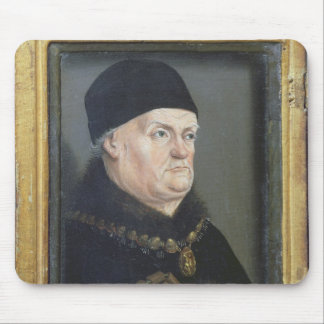 The Matheron Diptych: Portrait of Rene I Mouse Mat