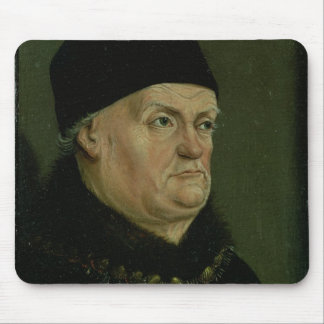 The Matheron Diptych: portrait of Rene I the 'Good Mouse Pad