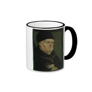 The Matheron Diptych: portrait of Rene I the 'Good Ringer Mug