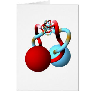 The Mating Dance of the Alexander Horned Spheres Note Card