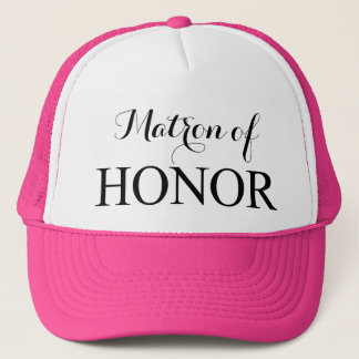 The Matron of Honor Trucker Hat