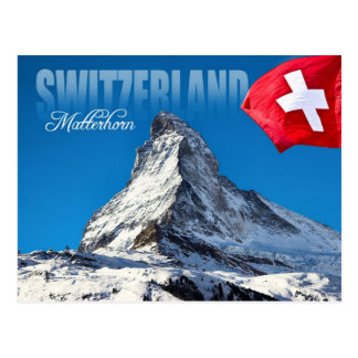 The Matterhorn, Switzerland Postcard