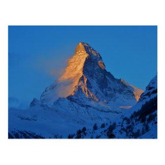 The Matterhorn, The Mountain of Mountains Postcard