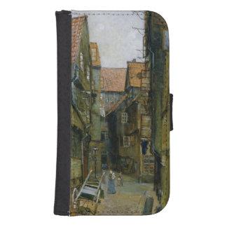 The Matthiasstrasse in Hamburg, 1891 Samsung S4 Wallet Case