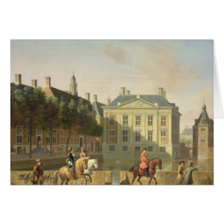 The Mauritshuis from the Langevijverburg Card