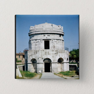 The Mausoleum of Theodoric 15 Cm Square Badge