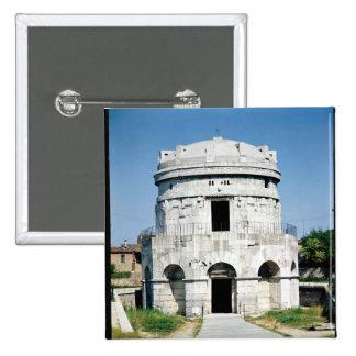 The Mausoleum of Theodoric 15 Cm Square Badge