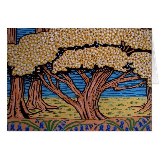 The May Tree Card