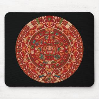 The Mayan (Aztec) Calendar Wheel Mouse Mat