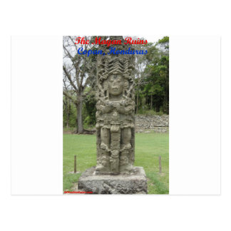 The Mayan Ruins - Copan Honduras Postcard