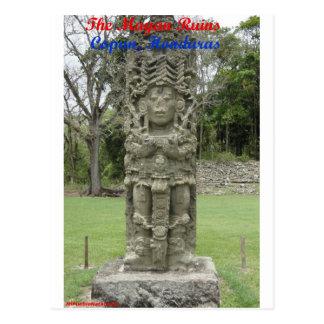The Mayan Ruins - Copan, Honduras Postcard