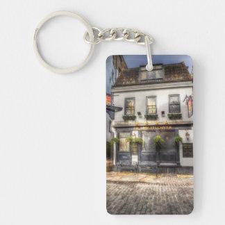 The Mayflower Pub London Single-Sided Rectangular Acrylic Key Ring