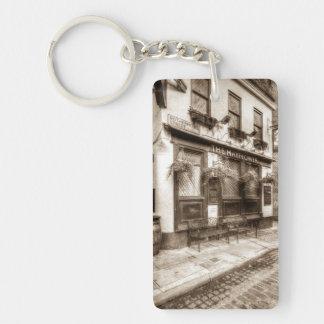 The Mayflower Pub London Vintage Single-Sided Rectangular Acrylic Key Ring