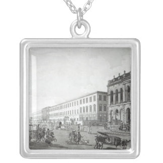 The Mayor's Court and Writers' Building Silver Plated Necklace