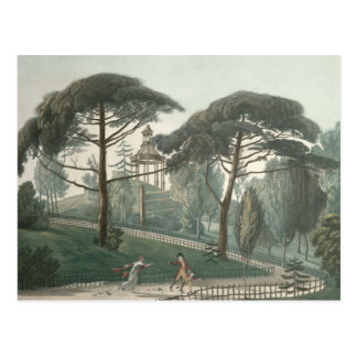 The Maze or Belvedere of the Jardin des Postcard