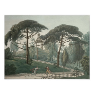 The Maze or Belvedere of the Jardin des Poster