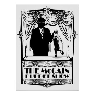 The McCain Puppet Show Poster
