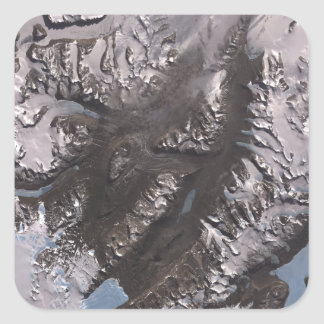 The McMurdo Dry Valleys Square Sticker