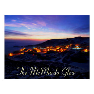 The McMurdo Glow Poster