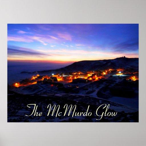 The McMurdo Glow Print