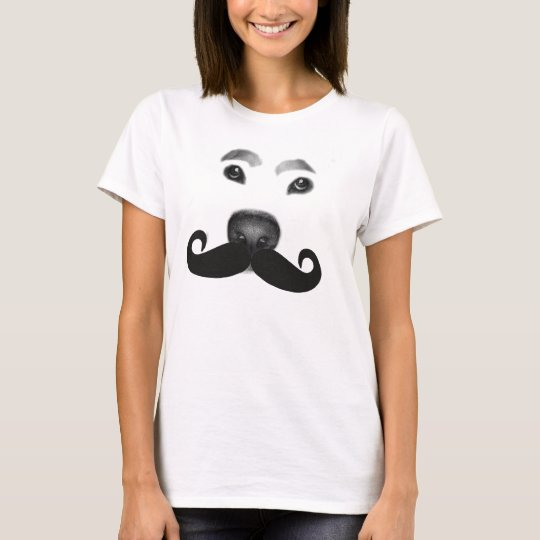 "The MDD ""Dog Moustache"" T-Shirt"