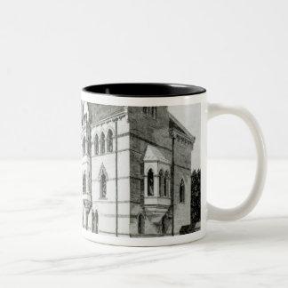 The Meadow Buildings, Christ Church, Oxford Two-Tone Coffee Mug