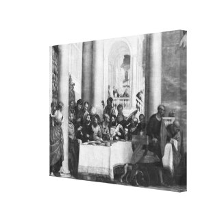 The Meal at the House of Simon the Pharisee Gallery Wrapped Canvas