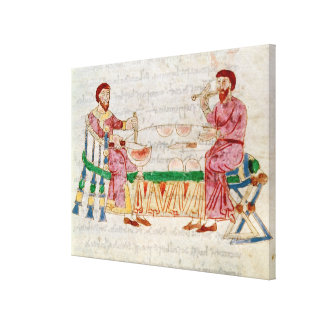 The Meal, from 'De Universo' Stretched Canvas Print