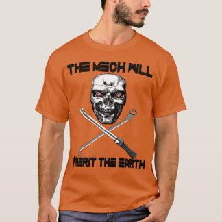 The Mech Will Inherit the Earth T-Shirt