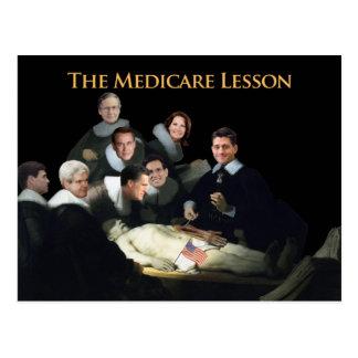 The Medicare Lesson Postcard