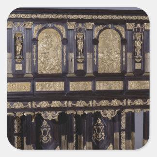 The Medici Cabinet, French, c.1630 Square Sticker