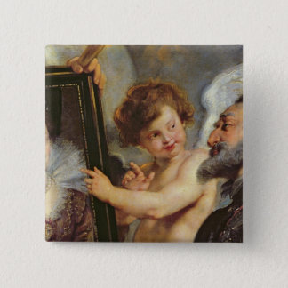 The Medici Cycle: Henri IV  Receiving the 15 Cm Square Badge