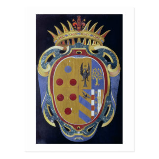 The Medici-Lorena Coat of Arms, c.1638 (pietra dur Postcard