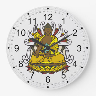 The Medicine Buddha Large Clock
