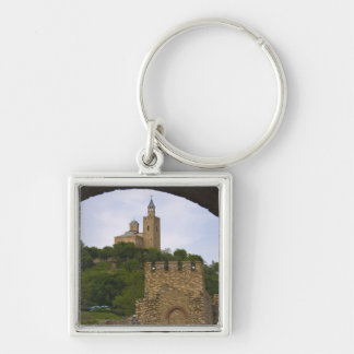 The medieval stronghold of Tsarevets Key Ring