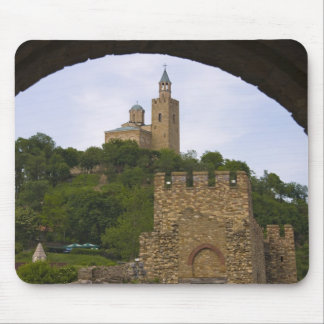 The medieval stronghold of Tsarevets Mouse Mat