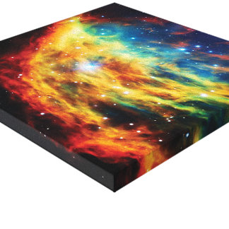 The Medusa Nebula Gallery Wrapped Canvas