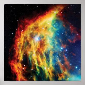 The Medusa Nebula Poster