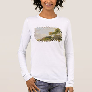 The Medway at Rochester, 1776 (oil on canvas) Long Sleeve T-Shirt