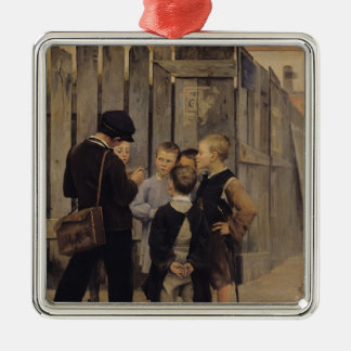 The Meeting, 1884 Christmas Ornament