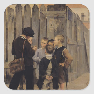 The Meeting, 1884 Sticker