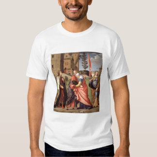 The Meeting at the Golden Gate with Saints, 1515 ( T-shirt