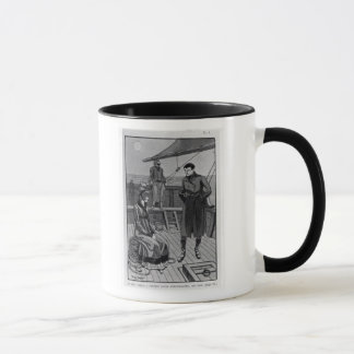 The meeting between Orso and Miss Nevil on Mug
