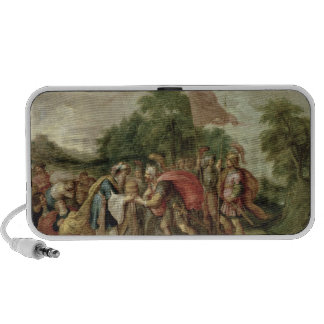 The Meeting of Abraham and Melchizedek iPod Speaker
