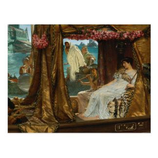 The Meeting of Antony and Cleopatra by Alma-Tadema Postcard