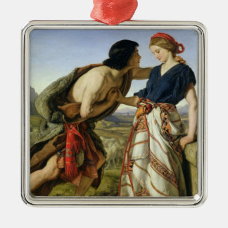 The Meeting of Jacob and Rachel, 1853 Christmas Ornament